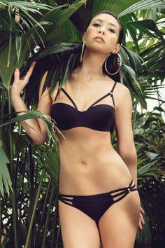ac2c09834067c Myleene Klass For Littlewoods Black Bikini, Bikinis, Swimwear, Celebrity  Style, Spring Summer