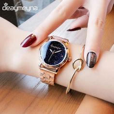 Deaymeyna Luxury Women Watches Ladies Watch Fashion Dress Quartz Wrist Watch For Ladies Girls Women Gifts Present Outfit Accessories From Touchy Style Cheap Watches, Stylish Watches, Cool Watches, Watches For Men, Luxury Watches, Elegant Watches, Wrist Watches, Beautiful Watches, Quartz Watch