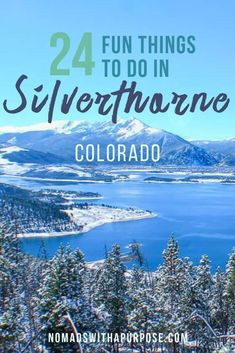 Everyone may know Breckenridge, but the neighboring town of Silverthorne just off of exit 205 holds some even more amazing activities from outdoor adventures to breweries and festivals. These 24 things to do in Silverthorne will Dillon Colorado, Lake Dillon, Keystone Colorado, Frisco Colorado, Aspen Colorado, Road Trip To Colorado, Colorado Hiking, Colorado Mountains, Colorado Springs