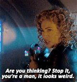 rivertwelve: River Song in The Husbands of River Song.