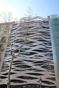 Barcelona, Paseo de Gracia, Toyo Ito building