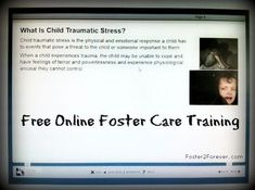 Here are some free online #fostercare training classes for #fosterparents