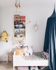 the boo and the boy: kids' bed canopies