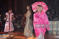 Charlotte Casiraghi, Beatrice Borromeo and Lily Allen attend the Rose Ball 2015 in aid of the Princess Grace Foundation at Sporting Monte-Carlo on March 28, 2015 in Monte-Carlo, Monaco.
