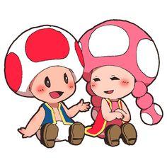 「マリオとポケモンらくがき」/「ぺぱでん」の漫画 [pixiv] #Toad #Toadette