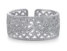 Cuffs are a good thing! Visit us Kristoff Jewelers, 640 Fifth Avenue South, Naples, FL 34102 #diamonds #custom #jewelry