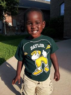 CUTE future #Baylor Bear. (Via @SicEm06)