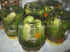 'Okurky po sklenicích' - rychlovkaSUROVINYDo každé sklenice o objemu 720ml dáme: 5ks nového koření, 5 kuliček pepře, 1 menší bobkový list, 1 čajová lžička hořčičného semínka, 1 čajová lžička soli, 6ks cukerínu, 50ml octa, 5 koleček mrkve, dvě kolečka cibulea snítku kopruPOSTUP PŘÍPRAVYPokud sbíráte na zahrádce okurky postupně jako letos já, tak je lepší dělat nálev po sklenicích než vařit litry nálevu...Do sklenice naskládáme omyté okurky a přidáme všechny ingredience. Vše zalijeme horkou…