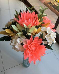 #paper #paperflowers #papercraft #paperlove #paperart #paperflorist #flores #flowers #floresdepapel