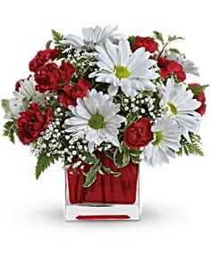 Red And White Delight by Teleflora Bouquet - Teleflora