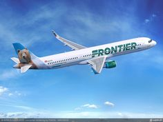 A321 Frontier Airlines