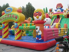 Cheap Inflatable Bouncy Castle from Jinshan! Bouncy House, Bouncy Castle, Big Water Slides, Bounce House With Slide, Castle Party, Fair Rides, Inflatable Bounce House, Playground Games, Carnival Birthday Parties