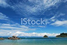 Split Apple Rock, Abel Tasman National Park, New Zealand Royalty Free Stock Photo Abel Tasman National Park, Seaside Towns, Turquoise Water, Image Now, New Zealand, National Parks, Royalty Free Stock Photos, Apple, Rock
