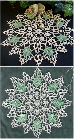 crochet doilies From doilies, this should satisfy every pretty picky about what choose to crochet. Perfect idea for spring and summer table by American Thread CompanySKILL LEVEL upper Crochet Thread Patterns, Tatting Patterns Free, Christmas Crochet Patterns, Crochet Patterns For Beginners, Crochet Home, Free Crochet, Crochet Crafts, Crochet Ideas, Crochet Dollies
