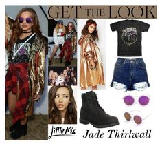 Jade Thirlwall With Perrie Edwards Mix V Festival August.21.2016