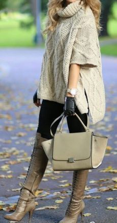 ParisComing Daily New Fashion : Fall / Winter - Street Style Inspiration Fall Winter Outfits, Autumn Winter Fashion, Fashion Fall, Street Fashion, Love Fashion, Womens Fashion, Fashion Trends, Barbie Mode, Pulls