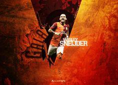 Wesley Sneijder (Galatasaray) by AlbertGFX.deviantart.com on @DeviantArt