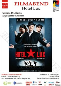 "Seara de film german: ""Hotel Lux"" (2011)"