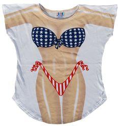 eb51a04a5fef7 Fantasy Coverup Stars & Stripes. American Flag BlanketAmerican Flag StarsBikini  SwimwearSexy BikiniSwimsuitsBikinisBeach T ShirtsTee ...