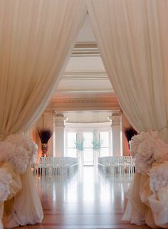 Make your wedding day memorable by decorating the walkway with ease and style. Here are some inspiring wedding walkway ideas to design your homes elegantly. Wedding Ceremony Ideas, Wedding Walkway, Ceremony Decorations, Wedding Events, Wedding Draping, Wedding Altars, Wedding Reception, Wedding Flowers, Weddings
