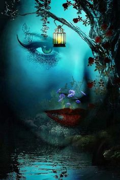 Title of Work: Spell of Night Here is a beautiful fine art print by fantasy artist Molly Harrison.