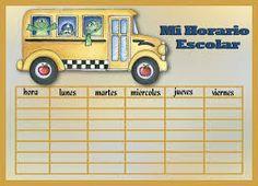 horario de clases 9 espacios - Buscar con Google