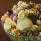 Greek Pasta Salad (I've been known to cut corners and use the Greek Salad Dressing with Feta from Trader Joe's)