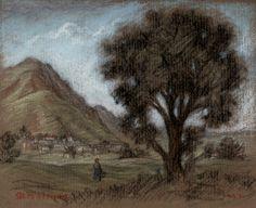 Pastoral Landscape study