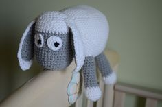 Crocheted soft toy - Lamp