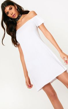 d00aaa356cd3 New In Fashion Trends | Women's Clothing. Daily DressWhite JerseySwing ...