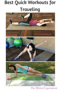 Best quick workouts for traveling @bikiniexp  : Featured post on Turn It Up Tuesdays.
