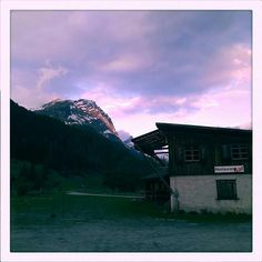 Random bar, Alps, Switzerland.