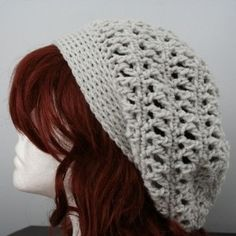 super cute crochet hat :)