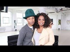 "▶ Oprah and Pharrell Williams Do the ""Happy"" Dance - Oprah Prime - Oprah Winfrey Network - YouTube"