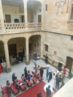 Ceremonia Civil en el Claustro del Castillo