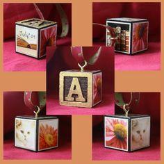 Wisp of Whimsy: Decorative ALPHABET BLOCKS
