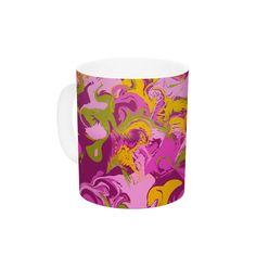 Marbleized by Anneline Sophia 11 oz. Ceramic Coffee Mug