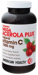 American Health Mega Acerola Plus 1000 MG
