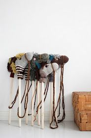 Definitely need to do this project - DIY horses from old socks