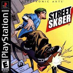Street Sk8er, quizas no tan bueno como al tony hawk pero con la mejor banda sonora de un juego de skate.