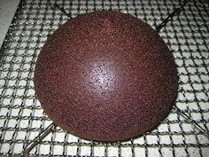 How to make a soccer ball cake - tutorial