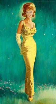 Lucille Ball was originally a showgirl.