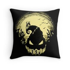 s Nightmare? is a nightmare of a silhouette featuring your favorite characters from Halloween Town. A Nightmare Before Christmas art by Harantula. Jack Skellington, Jack Und Sally, Nightmare Before Christmas Drawings, Desenhos Halloween, Fröhliches Halloween, Christmas Tumblers, Classic Movie Posters, Oogie Boogie, Arte Horror