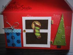 Caja Casita Navidad, Christmas House Box