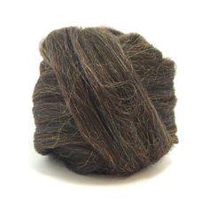 Paradise Fibers Glitzy Wool Roving 4oz bundle