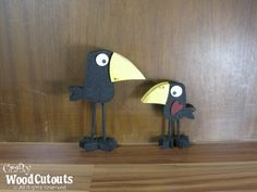 Crow Unfinished Wood Craft | DIY Unfinished Wood Crafts
