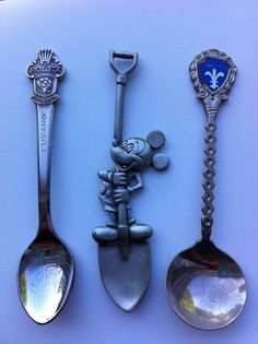 Souvenir Spoon Lot By Annajana On Etsy   Collectible Spoons Spoon Collection Flea