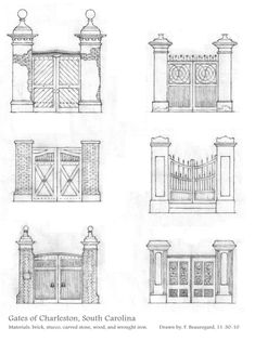 Gates of Charleston by ~Built4ever on deviantART