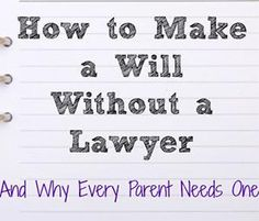 8 Tips for Drawing Up a Will