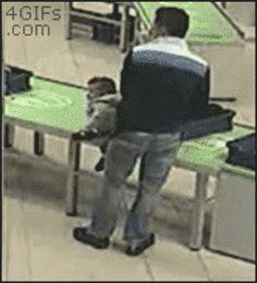 Dad reflexes